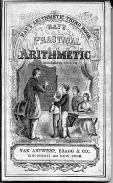 Rays Practical Arithmetic 1857 cover